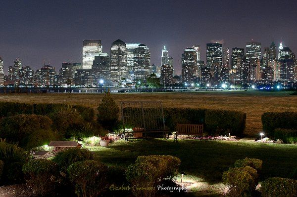 Elizabeth Chambers Photography - Vista from the Liberty House Restaurant in Jersey City, NJ