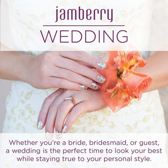 jamberry wedding edgy