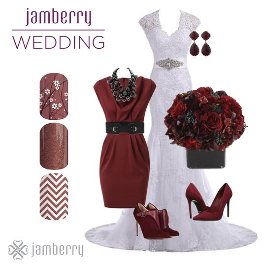 jamberry wedding marsala