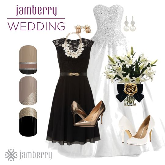 jamberry wedding black tan