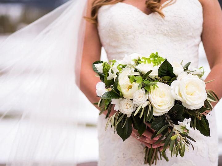 Tmx 1506866252178 Hannahs White And Green Bridal Bouquet   In Photog Denver, Colorado wedding florist