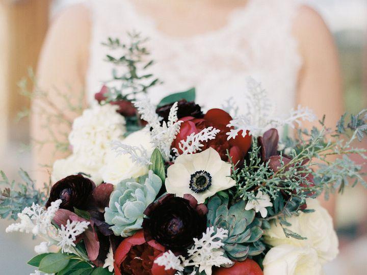Tmx 1506866280138 Malorys Burgundy Green And White Bridal   Winsome  Denver, Colorado wedding florist