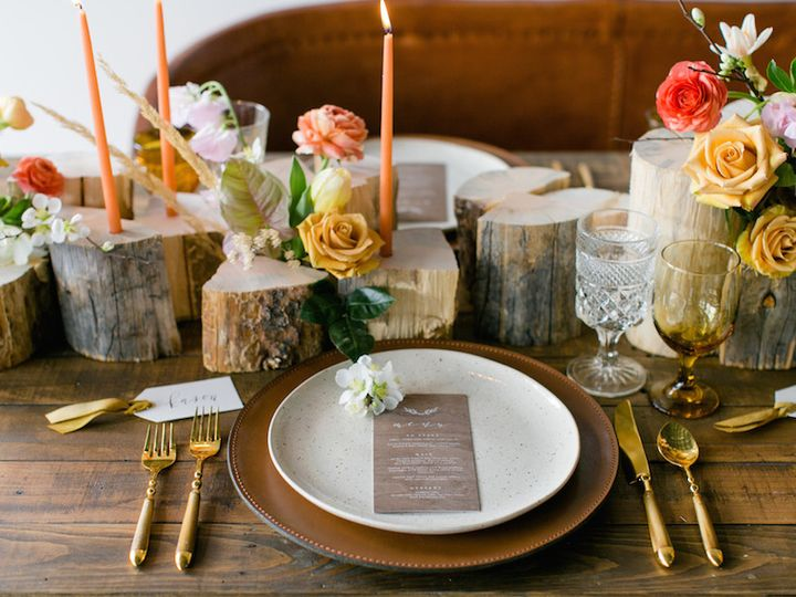 Tmx 1506866694668 Modern Rustic Table Setting   Mywedding.com   Mega Denver, Colorado wedding florist