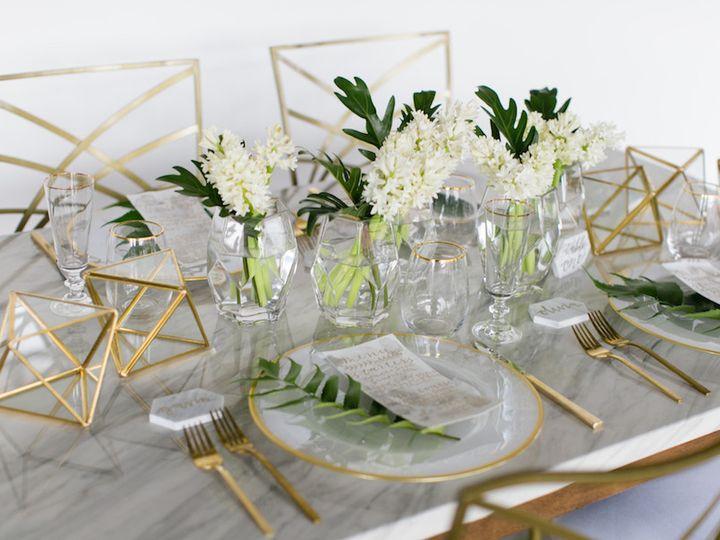 Tmx 1506866720211 Modern Tablescape   Mywedding.com   Megan W Photog Denver, Colorado wedding florist