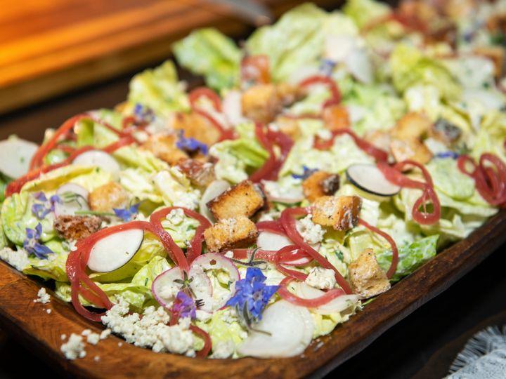 Tmx Bibb Salad With Flowers Scaled 51 2033651 162323401853325 San Diego, CA wedding catering
