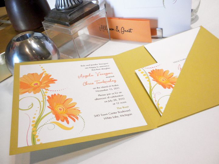 We assemble enclosure invitations for you, and at no additional charge, so that all you need to do...