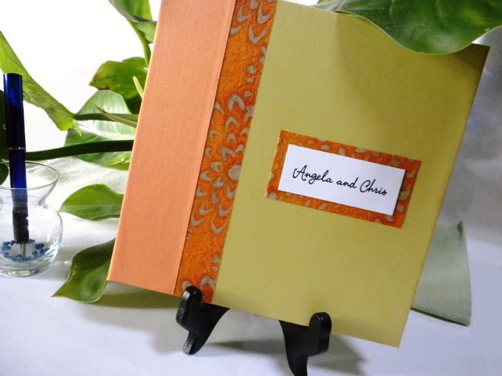 All of our guest books are constructed using archival materials -- book cloth, acid-free decorative...