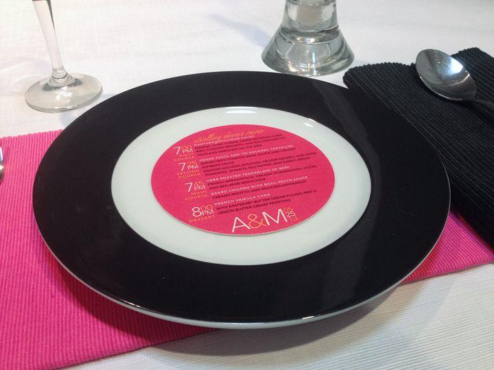 Disc invitation