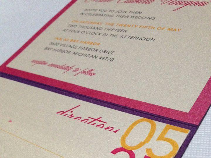 Tmx 1393334774104 Photo Oct 10 11 10 05 A Cranston, RI wedding invitation
