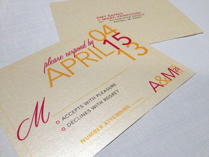 Tmx 1393334778182 Photo Oct 10 11 11 41 A Cranston, RI wedding invitation