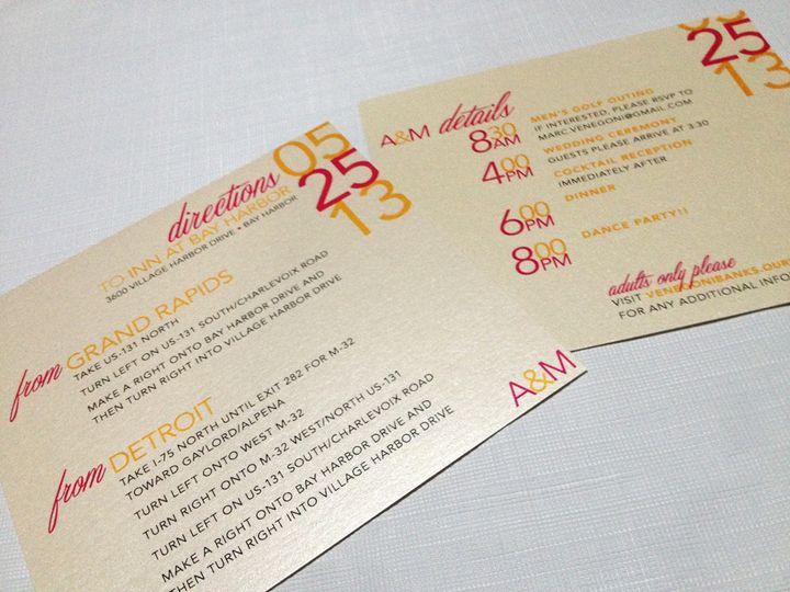 Tmx 1393334782381 Photo Oct 10 11 14 32 A Cranston, RI wedding invitation