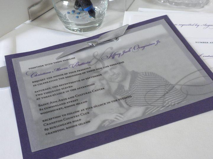 Tmx 1393881544304 Dscn393 Cranston, RI wedding invitation