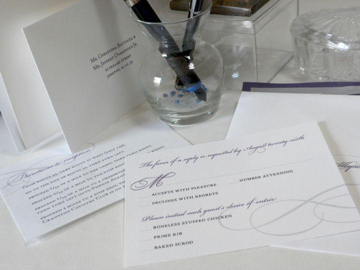 Tmx 1393881569372 Dscn394 Cranston, RI wedding invitation