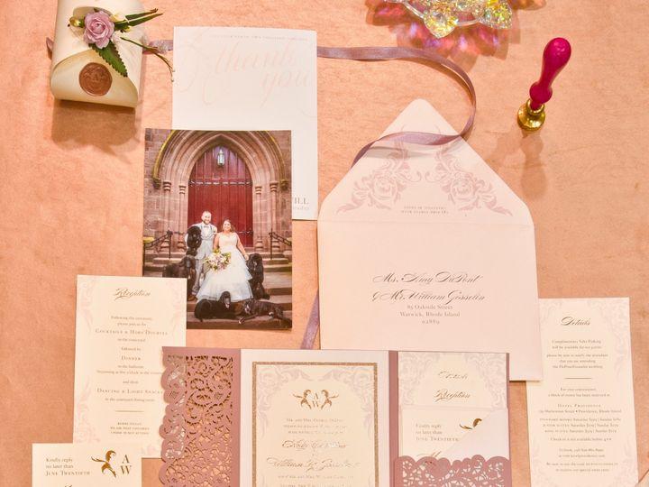 Tmx A Dupont 1 51 673651 157755463458448 Cranston, RI wedding invitation