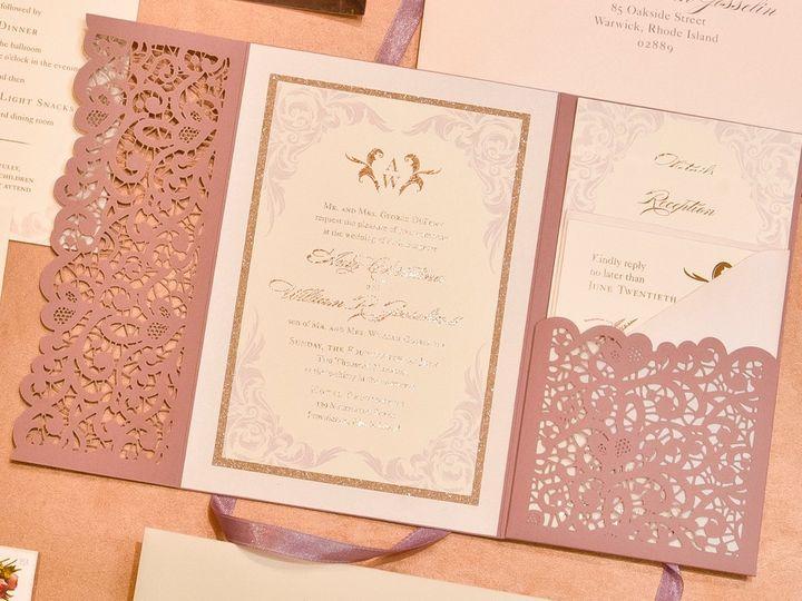 Tmx Enclosure 51 673651 157755467837961 Cranston, RI wedding invitation