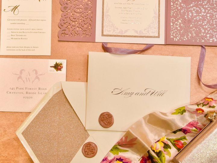 Tmx Inner2 51 673651 157755466945821 Cranston, RI wedding invitation