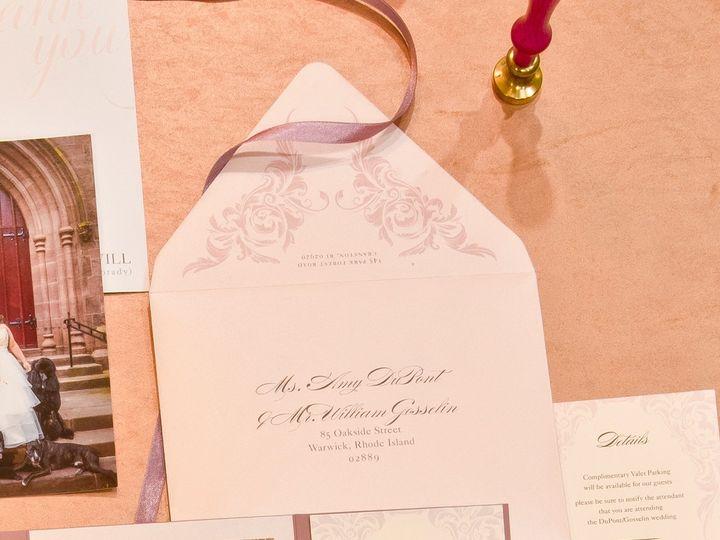 Tmx Outer2 51 673651 157755469112734 Cranston, RI wedding invitation