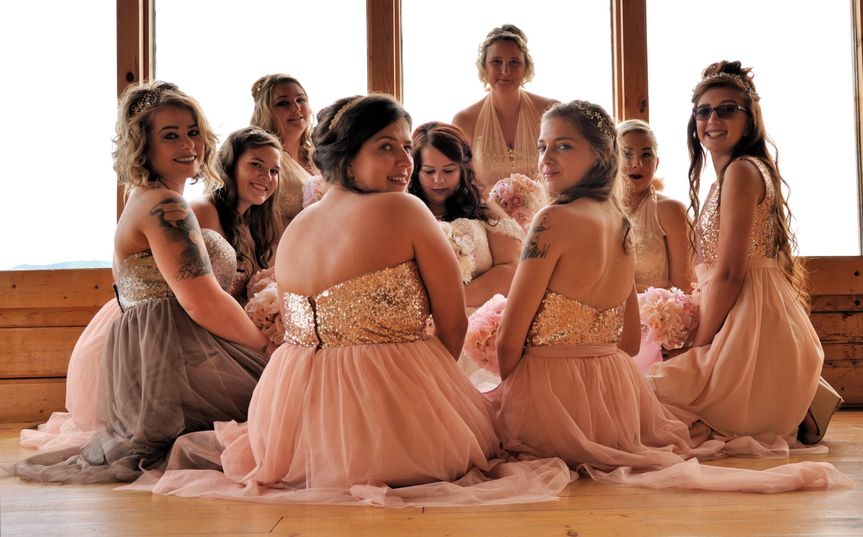 Ally and Bridesmaids
