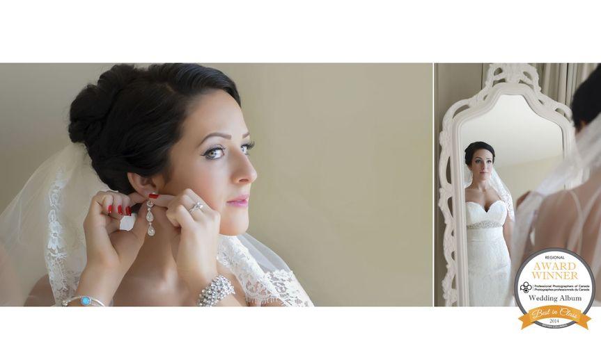 ribboned wedding album suzanne le stage b787 5le