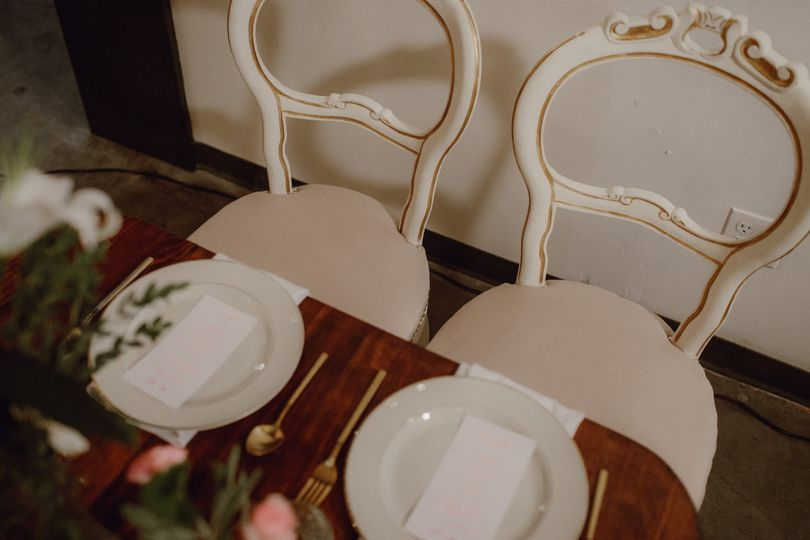 Table for the couple | Catalina Jean Photography