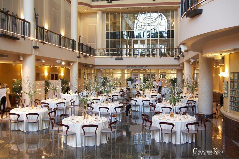 Tsakopoulos library galleria venue sacramento ca weddingwire 800x800 1405023698100 banquetwhitelinenes junglespirit Images