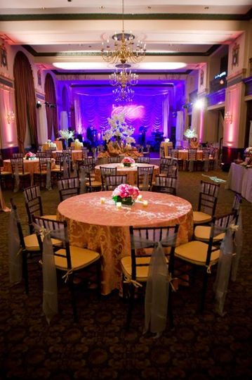 PDA provided lighting, sound and staging for this wedding at the beautiful Francis Marion Hotel in...