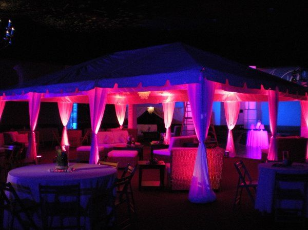 PDA provided lighting, sound and staging for this wedding in Orangeburg, SC