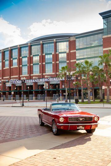 Downtown Jacksonville car