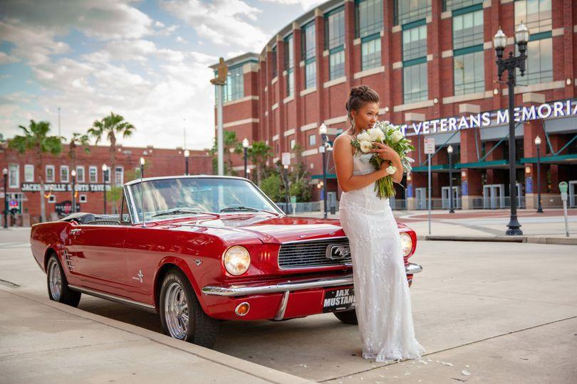 Jacksonville, Fl wedding car