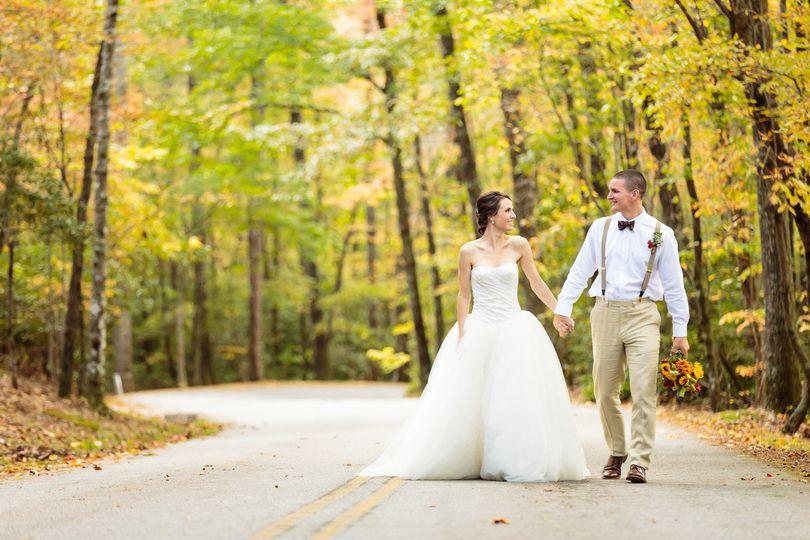 outdoor mountain wedding table rock 1
