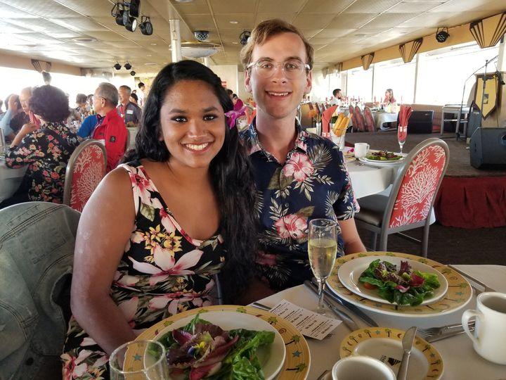 Dinner on Star Of Honolulu