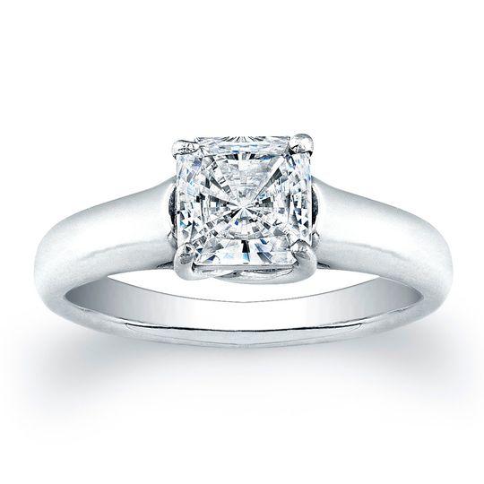 Vatche X Prong Princess Cut Solitaire Engagement RingThis simple yet stylish solitaire...