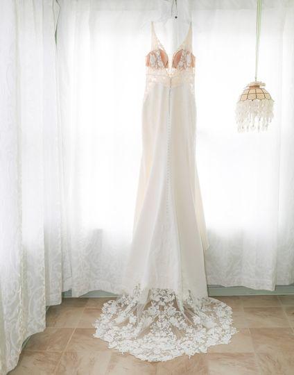WEDDING DRESS GREENOCK MANOR