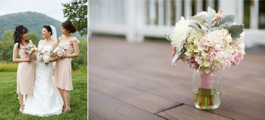 Bridal Bouquet for an outdoor wedding in The Hudson Valley