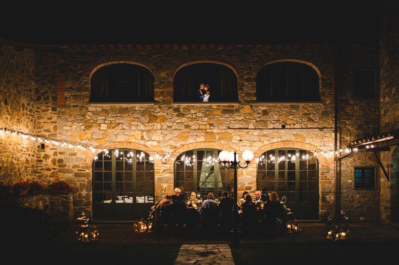Intimate wedding Villa Olimpia