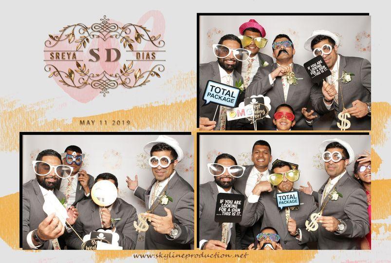 Dias Wedding Booth