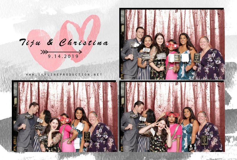 T&C WEDDING PHOTO BOOTH