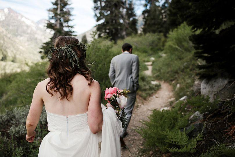 Flagstaff Forest elopement