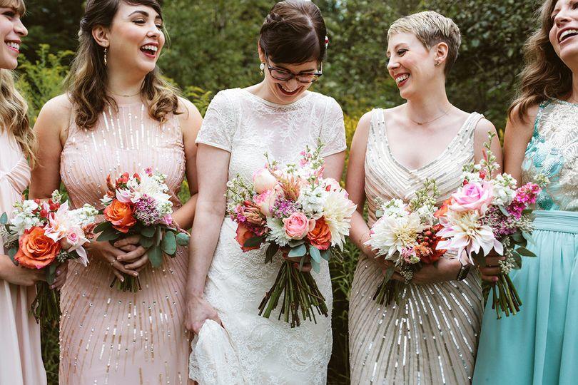Colorful Phoenix Wedding