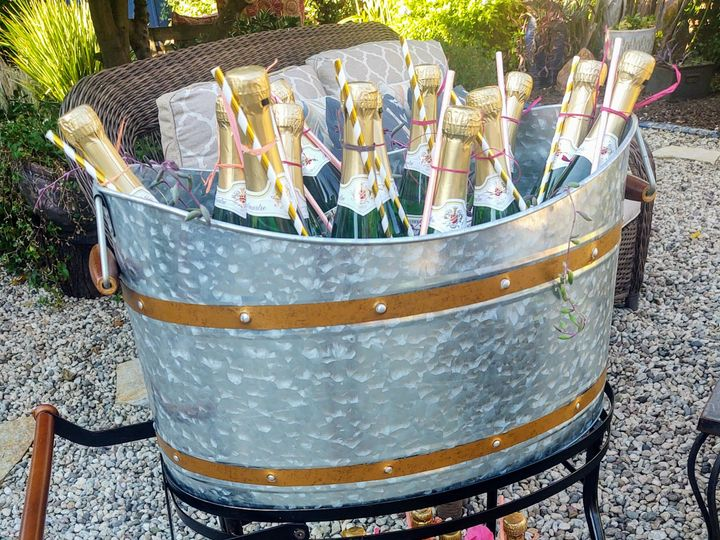 Tmx Mini Champagne Bottles With Straws 51 1962751 160411314286376 Los Angeles, CA wedding favor