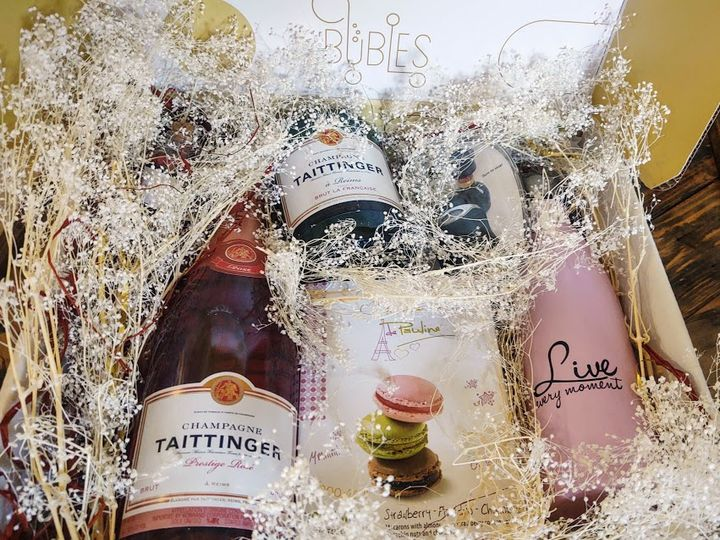 Tmx Taittinger With Candle And Macarons 51 1962751 160463205694795 Los Angeles, CA wedding favor