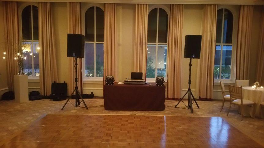 Capital Hotel DJ Setup