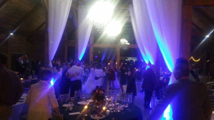 Uplighting & guest dancing