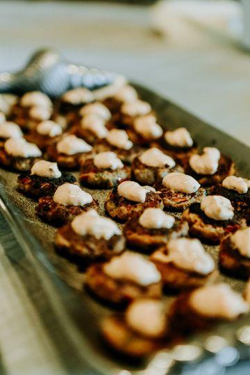 Cajun crab cakes