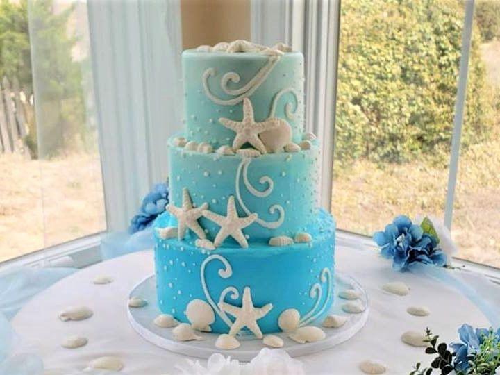 Tmx Beach Blue 51 166751 1568652022 Virginia Beach, Virginia wedding cake