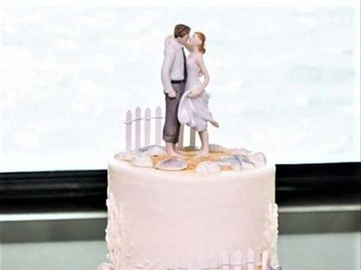 Tmx Beach Wedding Cake 3 51 166751 1568652022 Virginia Beach, Virginia wedding cake