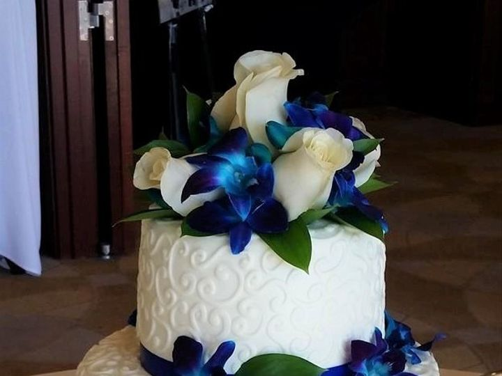 Tmx Blue Orchid Wedding Cake 51 166751 1568652042 Virginia Beach, Virginia wedding cake