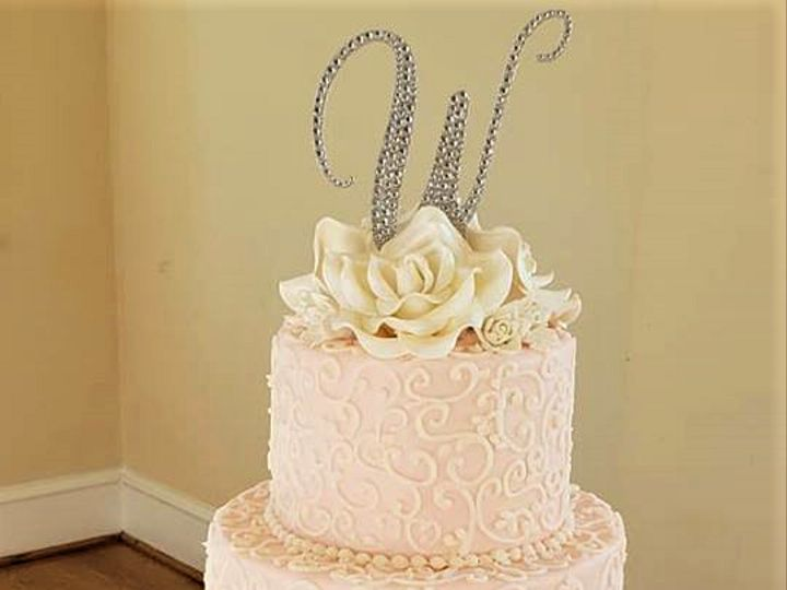 Tmx Blush And White Wedding Cake 51 166751 1568652036 Virginia Beach, Virginia wedding cake