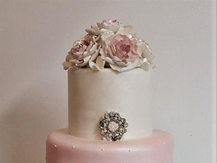 Tmx Blush Wedding Cake 51 166751 1568652049 Virginia Beach, Virginia wedding cake