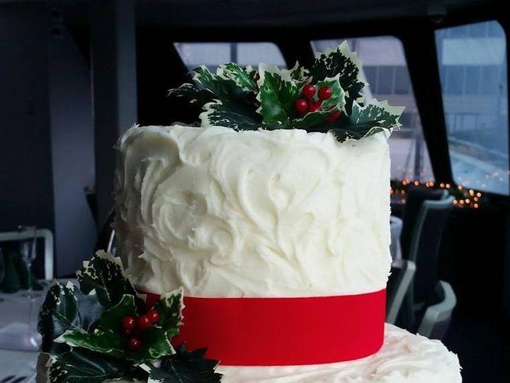 Tmx Christmas Wedding Cake 51 166751 1568652047 Virginia Beach, Virginia wedding cake